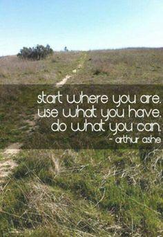 funni stuff, inspir quot, start, arthur ash, inspirational quotes