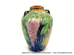 Roseville USA Art Pottery Wysteria Vase