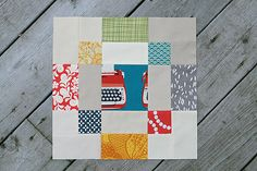 Antique Tile and Nancy Cabot — Fresh Lemons Modern Quilts