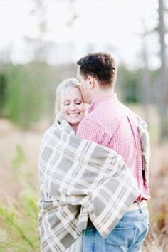 Relaxed Engagement Session - Laura Gordon Photography via The Brides Cafe