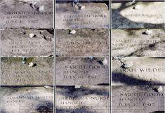 Salem witch trials grave sites
