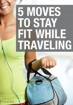 You can still workout, even when stuck in a hotel room!