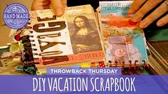 DIY Vacation Scrapbook - Throwback Thursday - HGTV Handmade