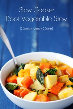 Slow Cooker Root Veg