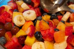 13 Spectacular {Fresh Fruit} Salads