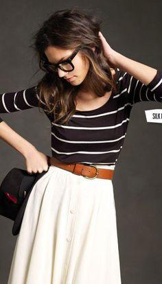 Stripes and belt