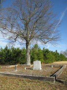 Richardson Cemetery  Wendell  Wake County  North Carolina  USA