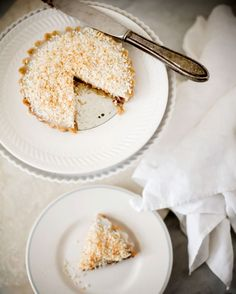 Coconut Chocolate Tart - A Stack of Dishes