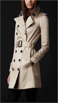 Another Burberry trench...