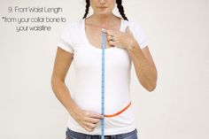 How to take your measurements for sewing clothing