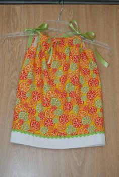 Nap Time Crafts: Pillowcase Dress