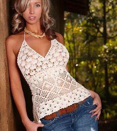 Top Crochet Hilda Patron - Patrones Crochet