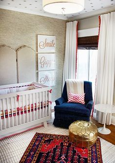 The perfect nursery via The Hunted Interior! #laylagrayce #nursery