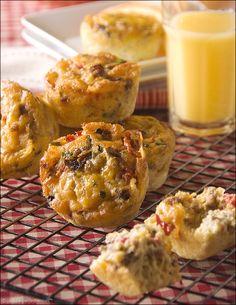 cheesy fritatta muffins