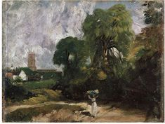 Stoke-by-Nayland, Suffolk, John Constable, about 1830