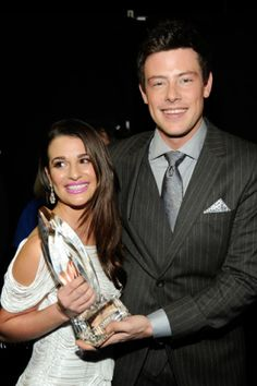 Lea Michele and Cory Monteith attend the 2012 People's Choice Awards | MTV Photo Gallery