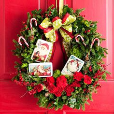 @Midwest Living December Cover Wreath!