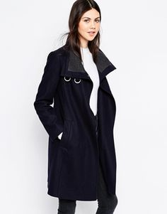 ASOS Coat with Funne