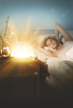 Alarm clock that wakes you up with sunlight!