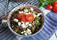 Recipe: Lentil and Feta Tabbouleh
