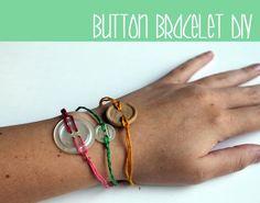 DIY Button Bracelet DIY Jewelry DIY Bracelets