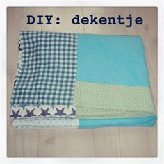 DIY - dekentje of sprei maken voor je kind, baby of peuter. Blanket or coverlet for child, baby and toddler. kids. #leukmetkids