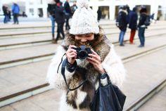 Vogue #NYFW #MBFW vogue, fashion weeks, vintage, street styles, new york fashion, coats