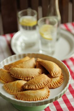 tyropitakia - greek mini shortbread cheese pies