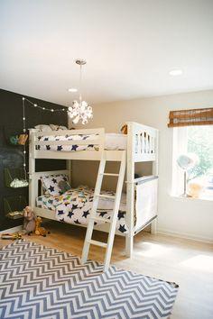 Little boys' room | Photography: Yazy Jo - yazyjo.com  Read More: http://www.stylemepretty.com/living/2014/09/22/la-la-lovely-home-tour/