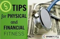 Whittle Your Waist, Fatten Your Wallet: What do staying active and managing a personal bank account have in common? More than you might think! Here's how to master both your fitness and your finances. | via @SparkPeople #fitness #exercise #workout #money #saving #goal
