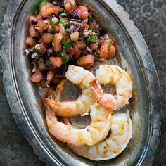 Grilled Shrimp With Italian Tomato Salsa
