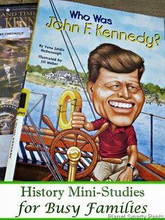 History Mini Unit Studies #socialstudies #historyforkids unit studies, minis, families