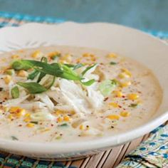Blue Crab and Corn Soup