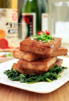 Seared Tofu with Soy-Maple Glaze