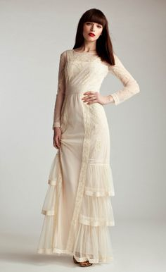 Long Sleeved Botanical Dress | Luxury Dresses | Temperley London