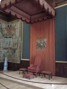 Henry the VII room at hampton court | One of Henry VIII's throne rooms – Billede af Hampton Court Palace ...