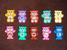 Hama bead care bears
