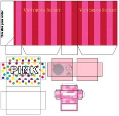 printable Victoria's Secret accessories for Barbie... wahoo!