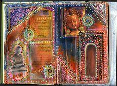 Art Journal Buddha Chai by Lollie Patchouli