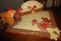 Capa p/galão e toalha p/fogão COCOCORECO
