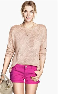 Stay #classic in these pretty in #pink shorts! So cute!
