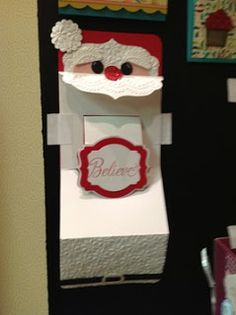 Using SU Deco Label -Late Night Stamper: Creative ways to use the Karen Burniston pop up dies from Stampin Up