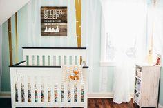 mint nurseri, geometr pattern, harlow nurseri