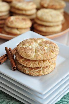 Snickerdoodle Cookies #cookies #snickerdoodle
