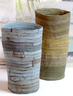 porcelain paper clay~  Brenda Holzke
