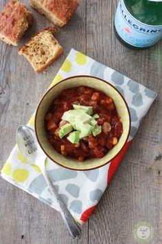 Crock Pot Vegan Bean Chili
