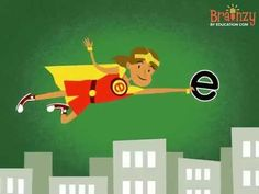"Super ""E"" can change ""cap"" to ""cape"" and ""hop"" to ""hope""—and she'll help your kids improve their reading skills! #educational #video #kids #song #supere #silente #lettere #thelettere #e #reading #brainzy #superhero"