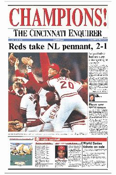 Cincinnati Reds, 1990 World Champions