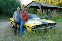Gibbs and his Dad, portrayed by Ralph Waite. NCSI's tribute episode 5-13-14.