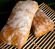 One Perfect Bite: No-Knead Ciabatta Bread